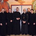 Seminarians with Fr. Roberto and St. John The Compassionate Staff.