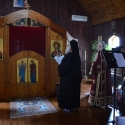 Hieromonk Luke led the Divine Services on Saturday and Sunday while Fr. Roberto and Fr. Jonathan were at St. Mary of Egypt Refuge for the Catechumen Retreat.