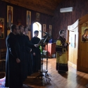 We sang the responses on Saturday during the панихида (Panachida). For Vespers, we split the responses with the choir from the mission.