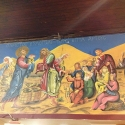 Icon of the Miracle of The Five Loaves and Fishes in the Mission Dining Room